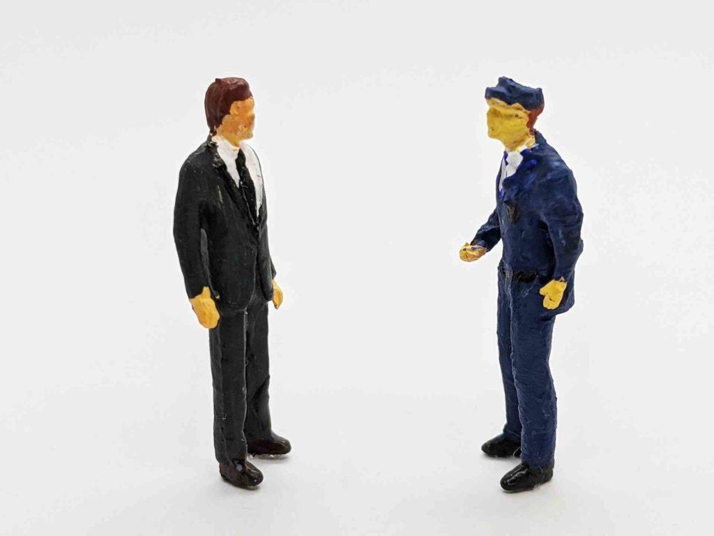 警察官の転職活動について