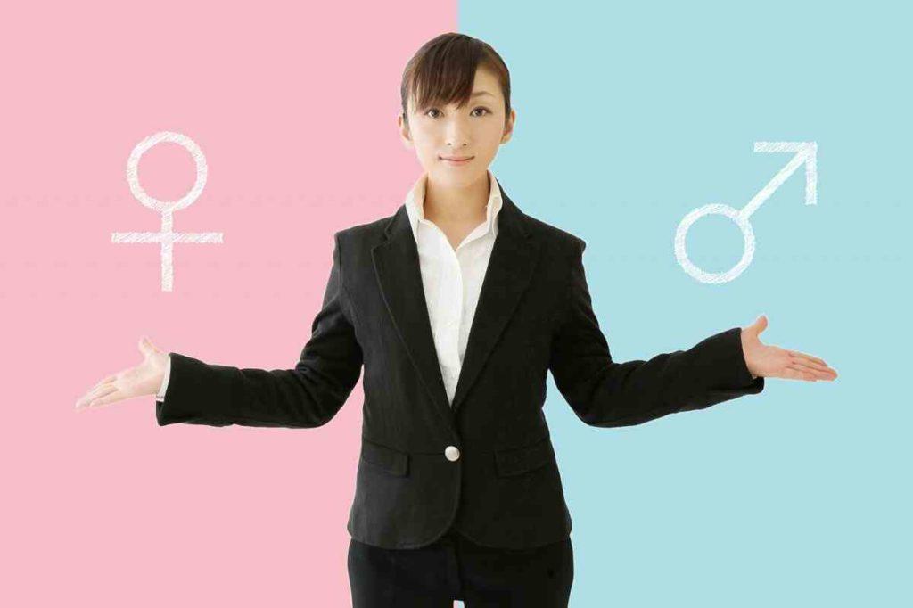 男女別のフリーター就職率