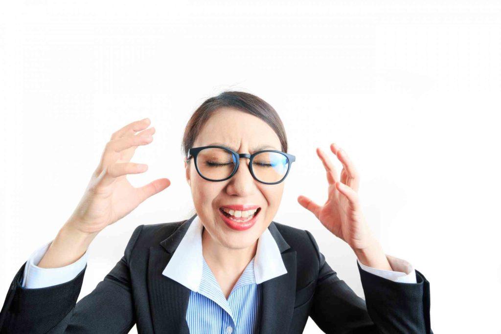 仕事でストレスを感じている人は多い